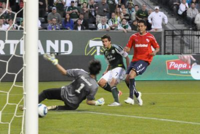 Timbers shut down Independiente, 2-0