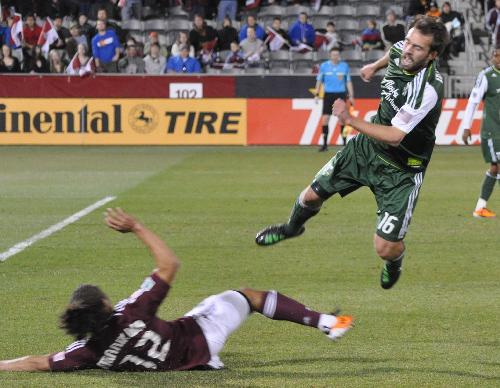 Timbers fall 3-1 in MLS opener in Colorado