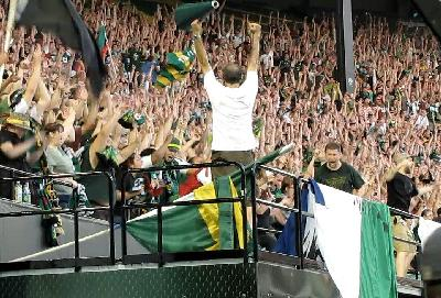 Timbers Army videos getting alot of attention