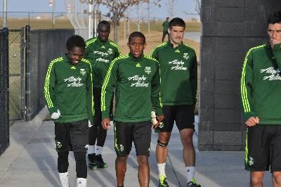Timbers train in Colorado on Friday night